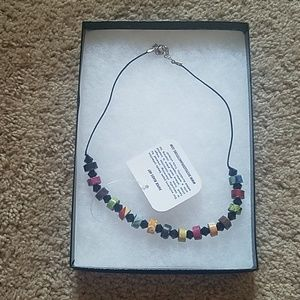 Jewelry - Paper bead necklace